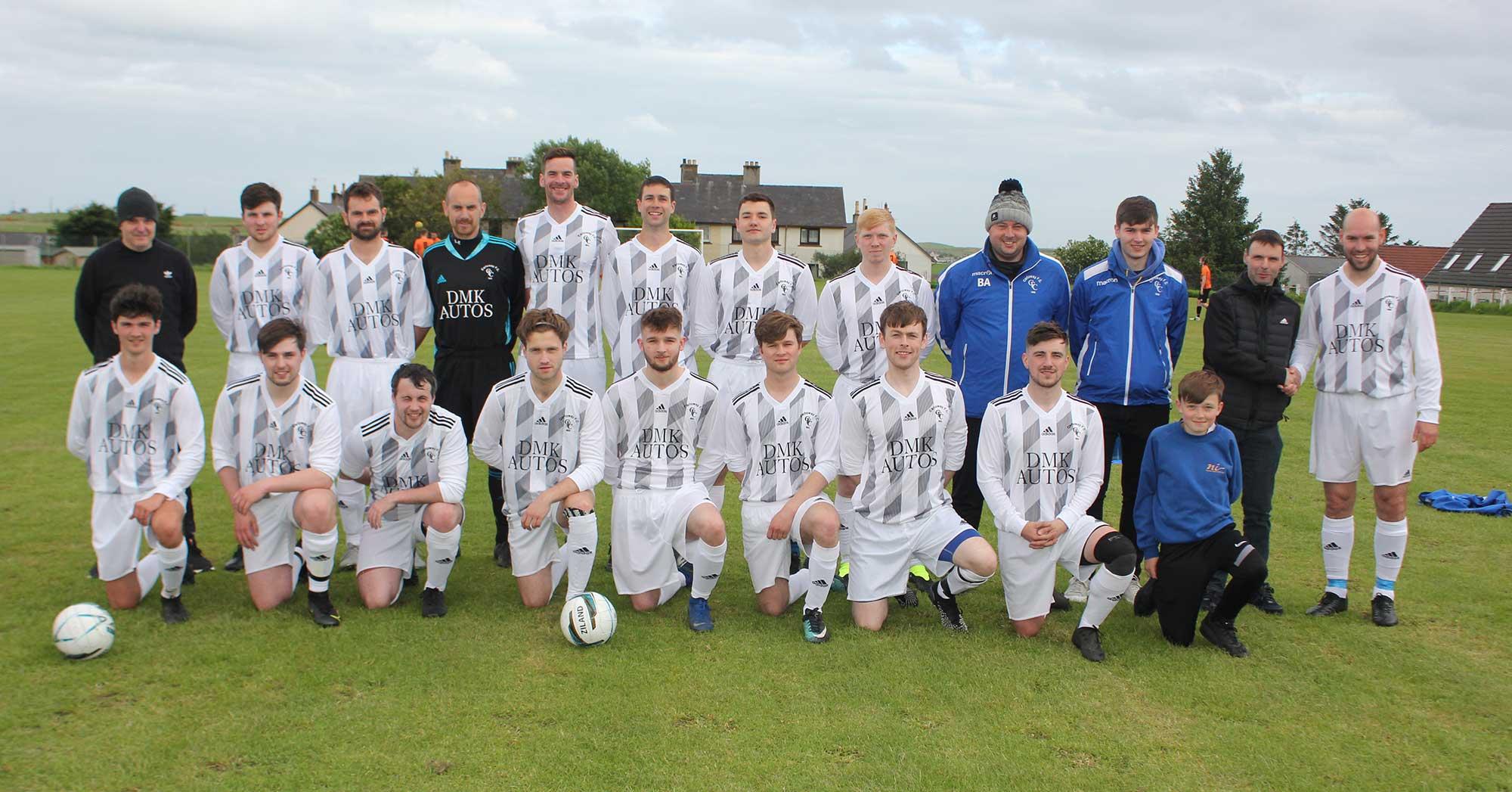 Carloway FC Team Photo 2021